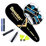 Senston Graphit Badminton Set Carbon Profi...